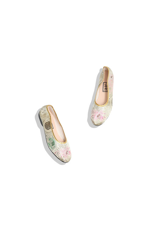 Chinese Shoes (gold)