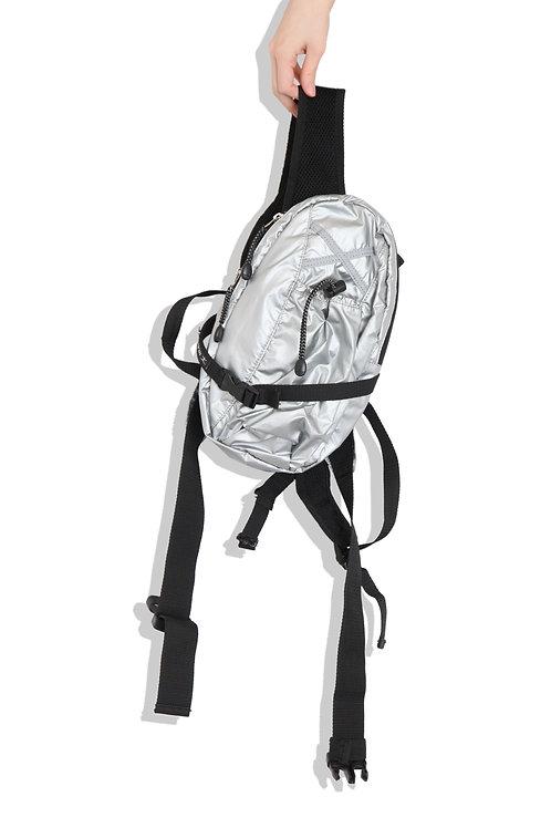 Danskin silver small backpack
