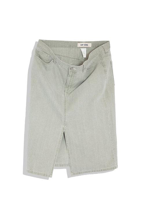 Gap jeans skirt XL