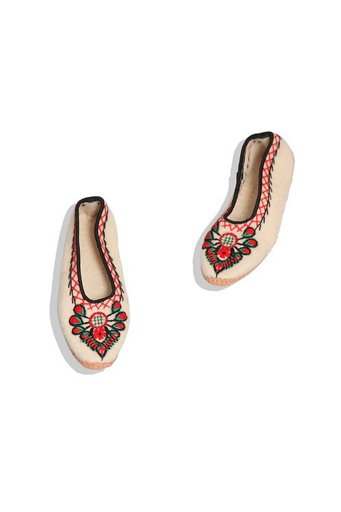 Polish handicraft shoes