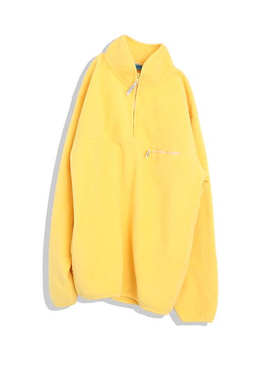 Yellow Fleece Long Sleeves