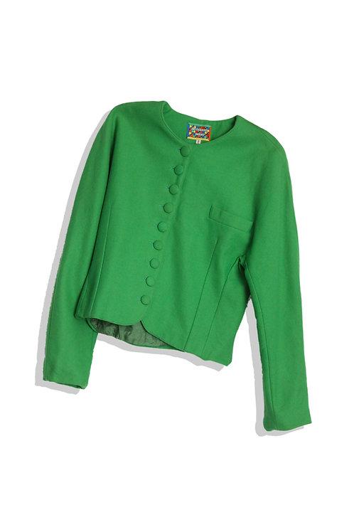 Green Wool Jacket