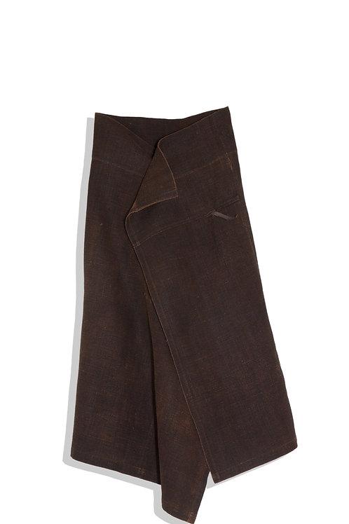 ISSEY MIYAKE long wrap skirt