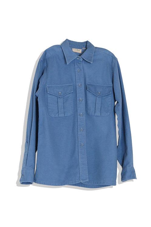 faded blue shirts L.L.Bean