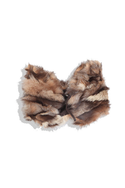Fur Cape by Christophe Lemaire
