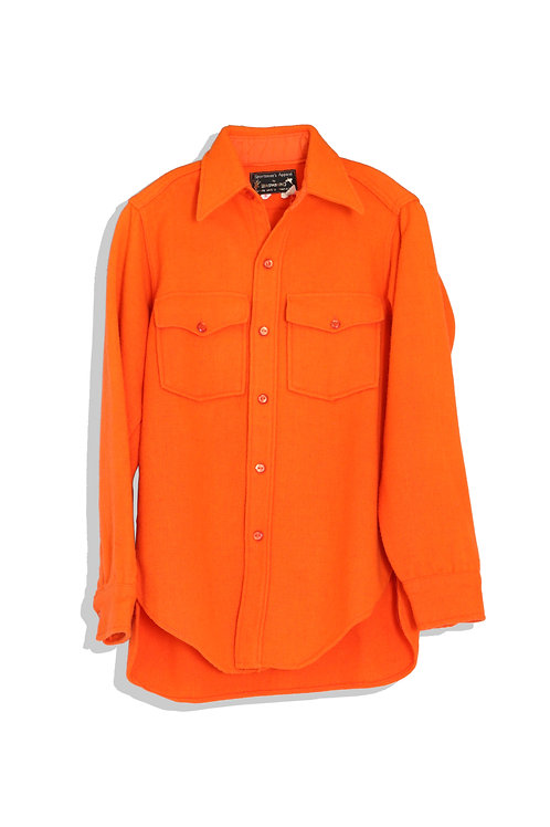 thick wool shirt (dirty orange)