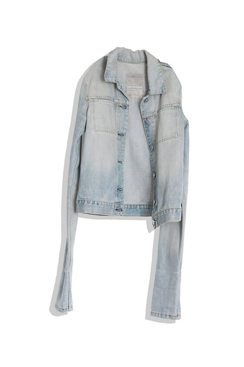 Helmut Lang Sleeves' Denim Jacket
