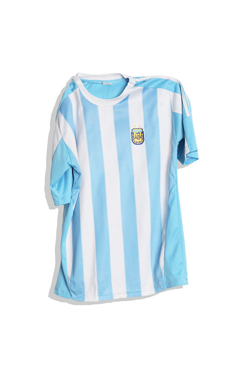 Light blue stripes tee