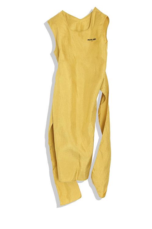 Mustard Hagoromo Dress