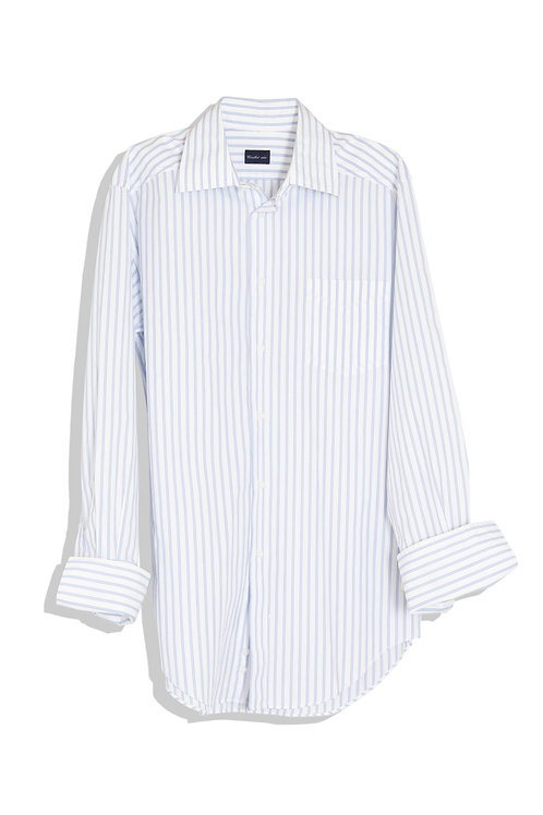 Cricket shirts blue stripe