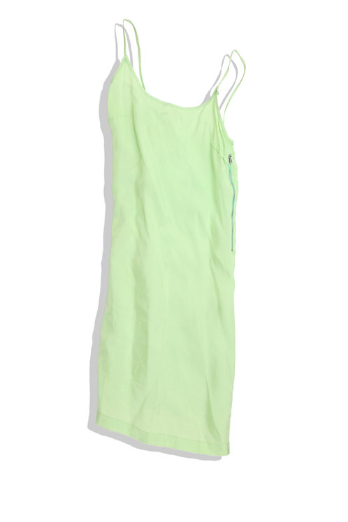 Lime Green Inside Out Dress