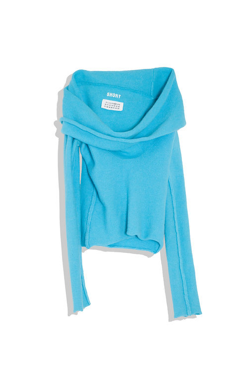 Margiela knit sky blue