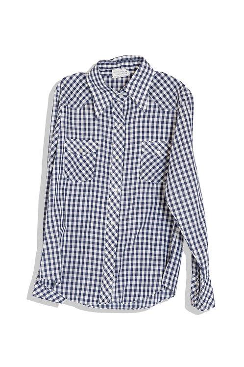 fine gingham check shirts