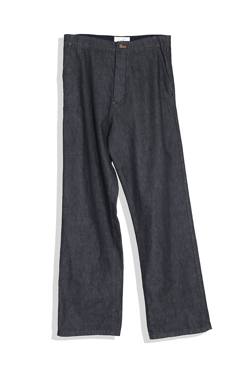 well; Chore pants (navy)