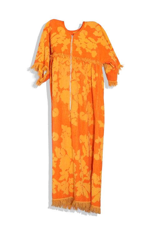summer longing cotton-pile dress