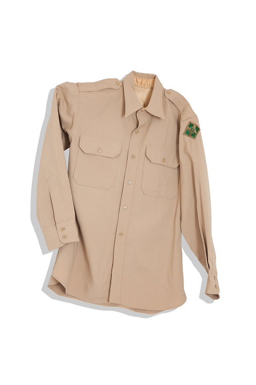 military with diamond patch