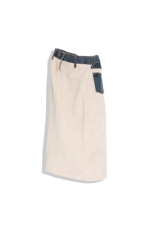 D&G cow girl's skirt