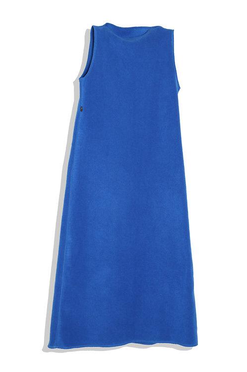 earth sky blue dress
