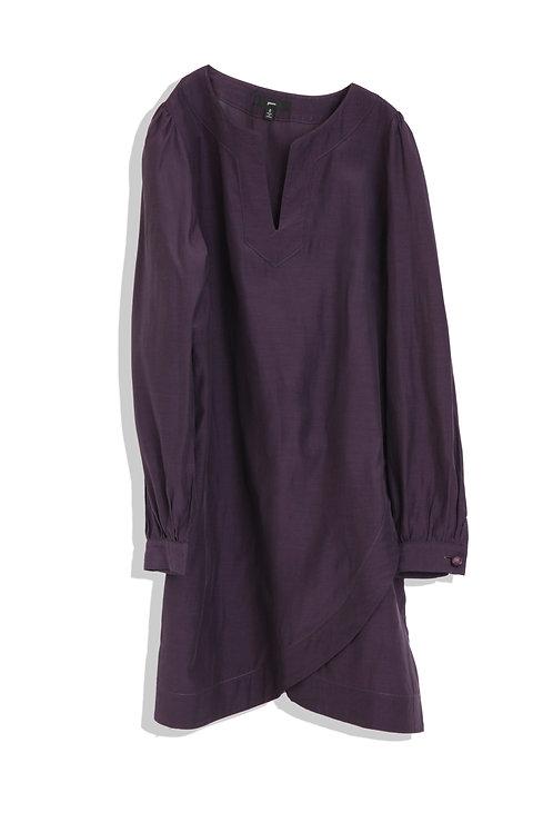green's purple tunic