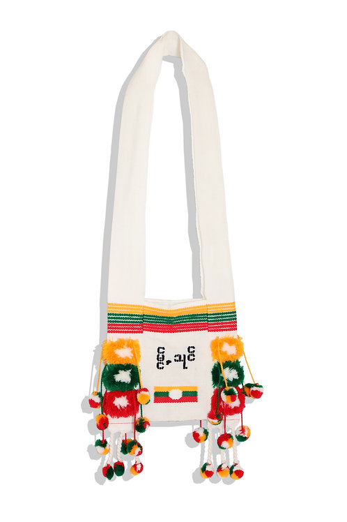 shoulder bag from Myanmar