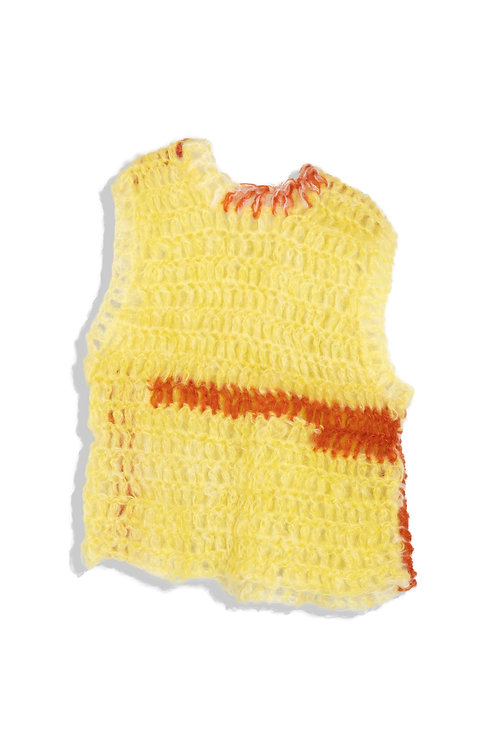 EDNA yellow&red vest