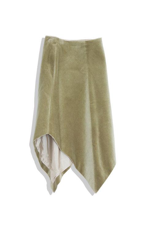 Chloé Velour skirt