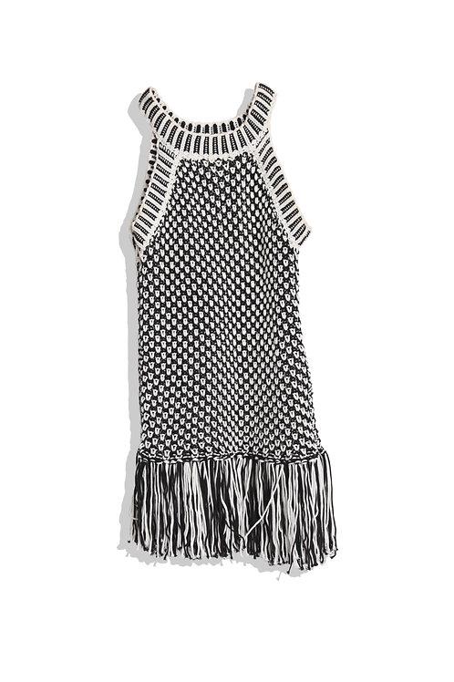 Black&White Knit tank