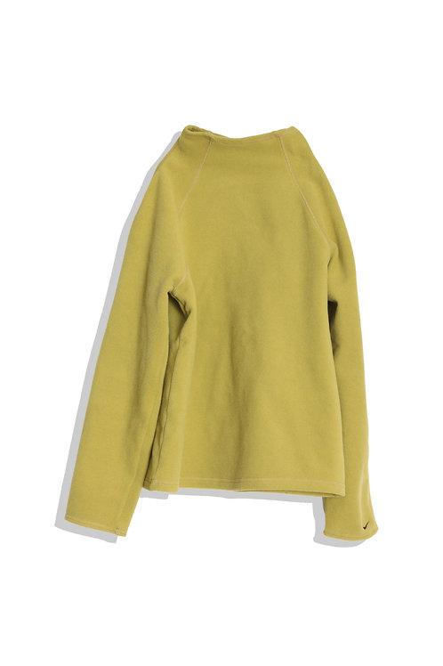 NIKE fleece top (moss green)