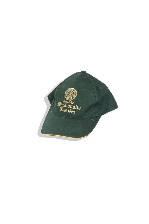 Dark green cap