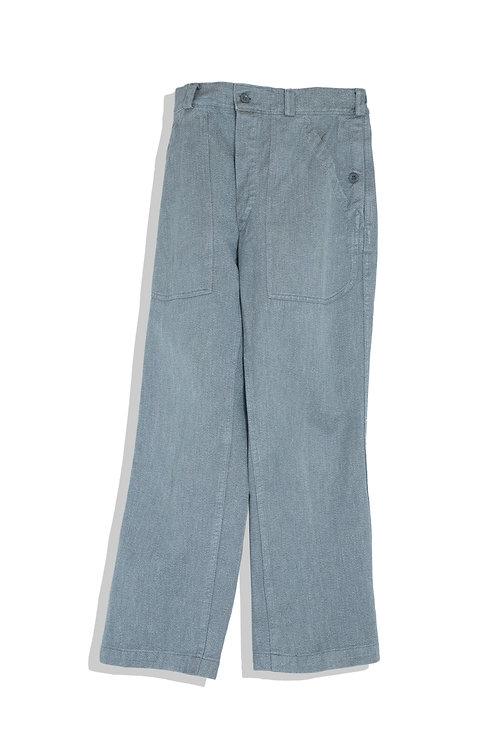 greenish grey army trousers