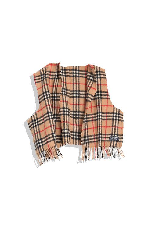 Burberry's scarf now vest