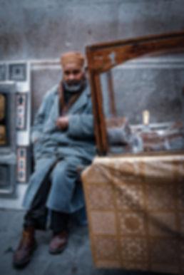 Old man inthe medina © Sabri Benalycherif