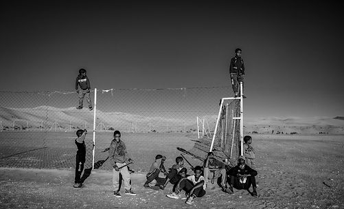 Kids in Taghit © Sabri Benalycherif