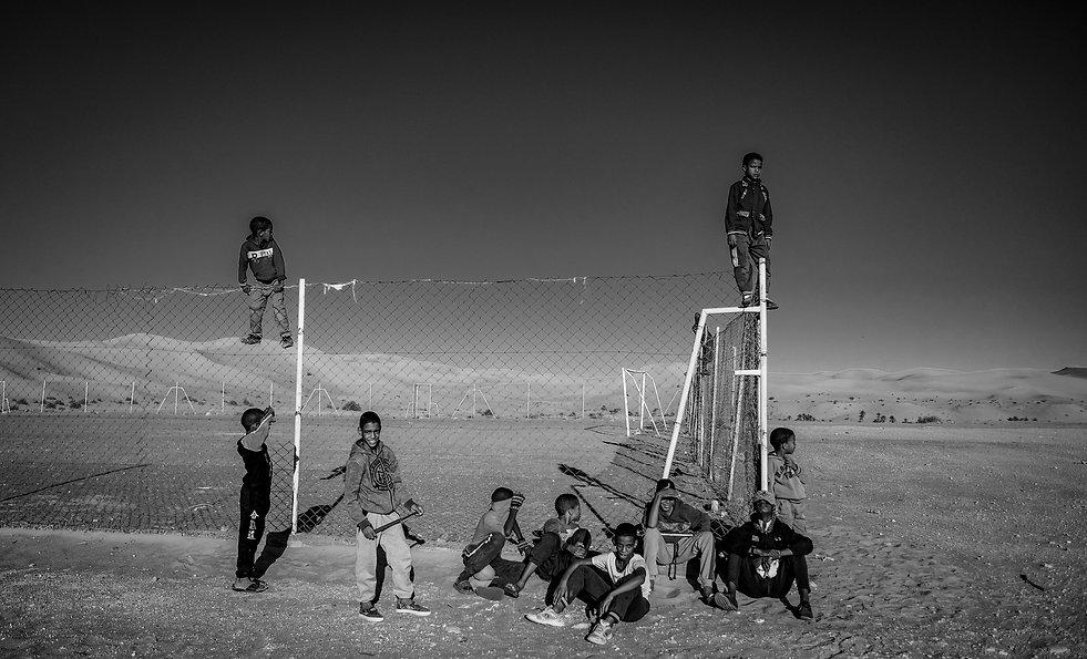 Kids in Taghit © Sabri Benalycherif
