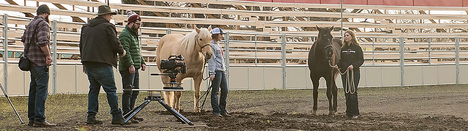 Pendleton Round-Up film production begind the scenes with Jeff Lorton, Tim Mustoe and Ben Caldwell