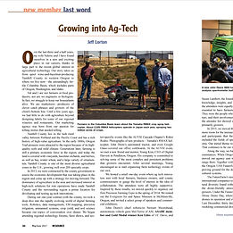 Grow into Ag-Tech article