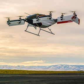 Airbus Vahana Pendlton UAS Test Rang First Flight Flying Taxie