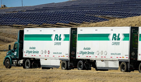 Airport Solar Array Triple Tractor Trail