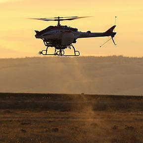 Yamaha Fazer crop spraying drone