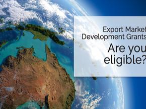 Export Market Development Grant (EMDG) - are you eligible?