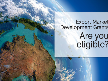 Export Market Development Grant (EMDG) - are you eligible?