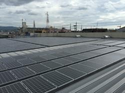 大阪折版屋根高圧工事