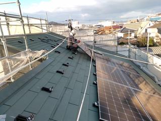 A様邸新築太陽光設置工事
