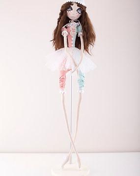 Авторские текстильные куклы ручной работы от AncellaToys. Милые красивые куклы можно купить в подарок дочке, девушке, жене.