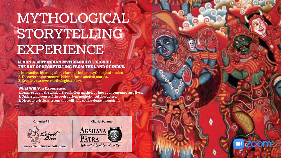 Mythological Storytelling Workshop - Aka