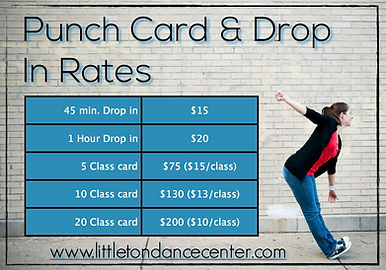 Punch Cards and Drop In Options
