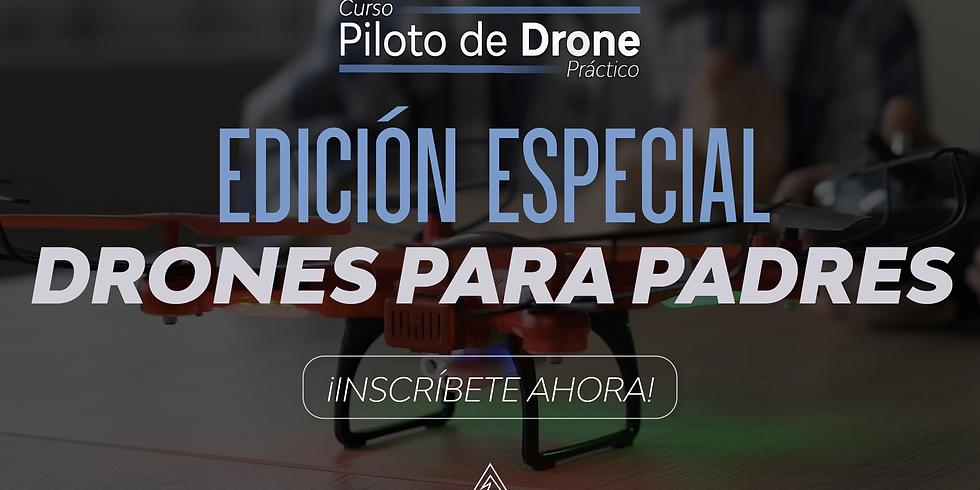 Curso: Piloto de Drone Práctico Edición Especial - Drones para Padres