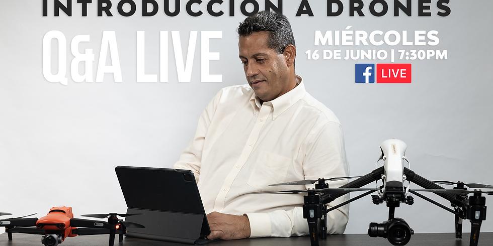 Introducción a Drones Q&A Live