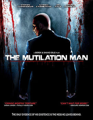 The Mutilation Man Movie Poster