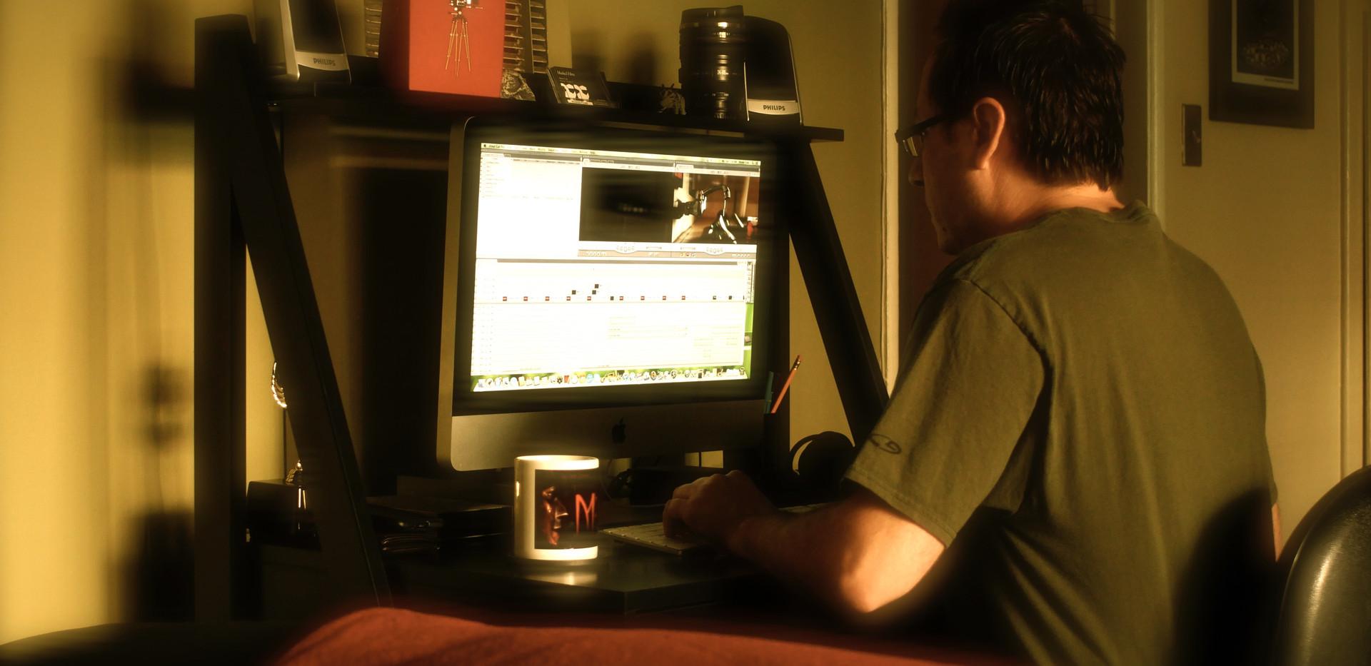 Editing Struggle Short Film